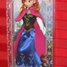 Frozen 2013 DISNEY STORE ANNA DOLL 12 Inch Barbie Size Figure Exclusive Arendelle