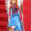 Disney Frozen 2013 ANNA OF ARENDELLE DOLL 11 Inch Barbie Size Figure Mattel