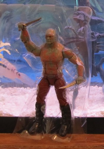 Marvel Legends 2014 Groot Wave MOVIE DRAX THE DESTROYER FIGURE Loose Guardians of Galaxy