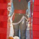 Disney Frozen 2013 KRISTOFF DOLL 12 Inch Ken Size Figure Barbie  Mattel