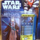 Star Wars TCW 2010 JEDI MASTER SHAAK TI FIGURE CW31 Animated Series Clone