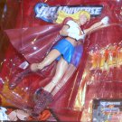 DC Universe 2011 MOTU WHITE T-SHIRT SUPERGIRL FIGURE Loose TRU Exclusive 6 Inch