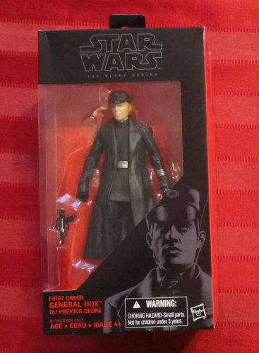 Star Wars Black 2015 FIRST ORDER GENERAL HUX FIGURE 6 Inch 07 Force Awakens