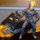 Marvel Legends 2003 Wave III GHOST RIDER & MOTORCYCLE FIGURE Loose 6 Inch Series 3