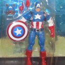 """Marvel Legends 2016 Red Onslaught Wave CAPTAIN AMERICA FIGURE Loose 6"""" Cap-Wolf"""