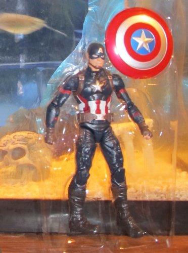 Marvel Legends 2016 CIVIL WAR CAPTAIN AMERICA FIGURE Loose 6 Inch Giant-Man Wave