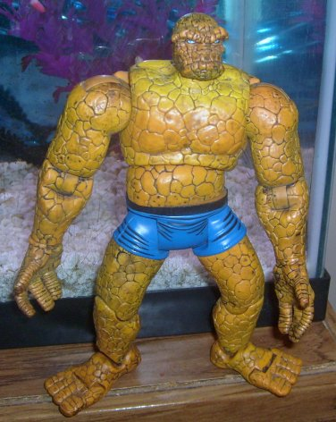 Marvel Legends 2002 Series II FANTASTIC FOUR THING FIGURE Loose 6 Inch Scale 2