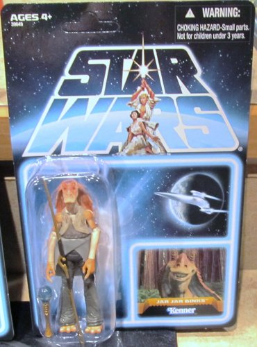 SDCC 2012 Star Wars JAR JAR BINKS FIGURE EP101 Comic-Con Exclusive 3 3/4 Inch