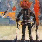 Marvel Legends 2016 JACK O'LANTERN FIGURE Loose 6 Inch Spider-man Absorbing Man Wave