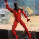 Marvel Universe 2016 SCARLET SPIDER-MAN FIGURE Loose 3 3 3/4 Inch Spider