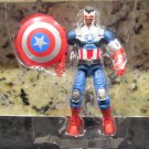 "Marvel Universe 2016 SAM WILSON CAPTAIN AMERICA FIGURE Loose 3 3/4"" Shield-Wielding Heroes Falcon"