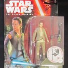 Star Wars TFA 2015 REY (RESISTANCE OUTFIT) FIGURE 3 3/4 Inch Force Awakens