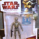 Star Wars TCW 2009 SPY DROID 4A-7 FIGURE CW13 3 3/4 Inch Animated Series