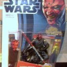 Star Wars 2012 SITH LORD DARTH MAUL FIGURE MH05 Phantom Menace Movie Heroes