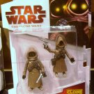 Star Wars TCW 2009 TATOOINE JAWAS FIGURE CW08 3 3/4 Inch Animated Series