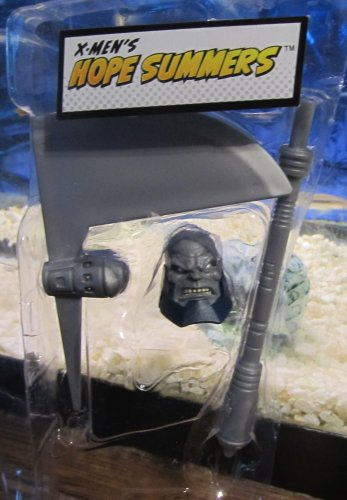 Marvel Legends 2012 TERRAX BAF HEAD & AXE PIECE (Hope Summers) Loose Figure