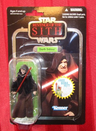 Star Wars TVC 2010 DARTH SIDIOUS FIGURE VC12 3 3/4 Inch ROTS Sith Emperor