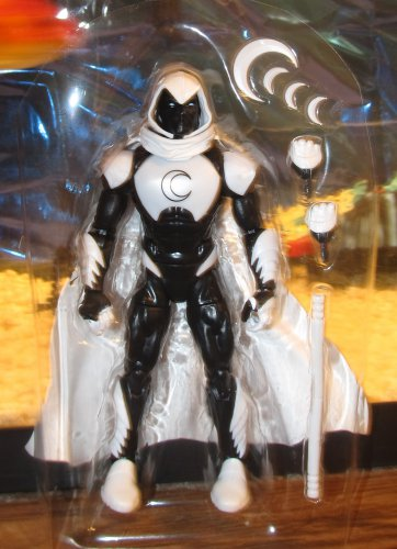 Marvel Legends 2017 MOON KNIGHT FIGURE Loose 6 Inch Spider-man Vulture Wave