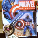 Marvel Universe 2009 CLASSIC CAPTAIN AMERICA FIGURE 3 3/4 Inch Avengers