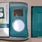 NWT Mini IPOD Holder Turquoise Perry Ellis Portfolio Leather