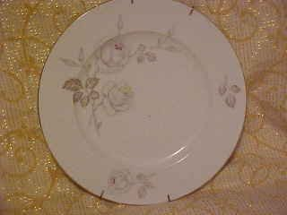 JOHANN HAVILAND BAVARIA GERMANY ROSES PLATE