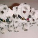 BRAND NEW DALMATIAN PUPPIES DOG FIGURINE KNICKNACK