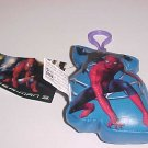 NEW THE AMAZING SPIDER-MAN BLUE SOFT KEY CHAIN HOLDER
