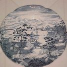 "JOHNSON BROS BLUE/WHITE 6-1/2"" PLATE ENCHANTED GARDEN"