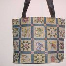 NEW COLONY ONE ZIPPERED LINED PATCHWORK TAPESTRY PURSE