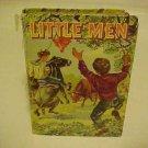 OLD KIDDY BOOK LITTLE MEN ALCOTT WHITMAN 1955