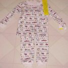 BRAND NEW BOYS  SZ 12 MONTH 2 PC TRUCK PATTERN PAJAMAS