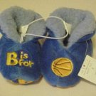 NEW ADORABLE TODDLERS SZ 4 B IS 4 BASKETBALL SLIPPERS