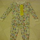 BRAND NEW BOYS SZ 18 MO 2 PC TRUCK PRINT PAJAMAS