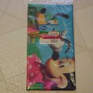 NEW DISNEY MINNIE MOUSE PLASTIC TABLECOVER TABLECLOTH