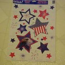 NEW PATRIOTIC USA AMERICAN EAGLE WINDOW DECALS CLINGS