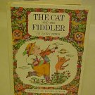 RARE OLD KIDDY BOOK THE CAT AND THE FIDDLER JACKY JETER