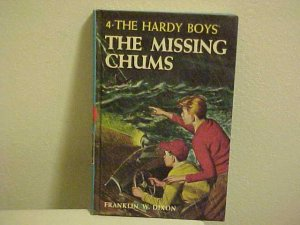 OLD KIDDY BOOK THE HARDY BOYS THE MISSING CHUMS DIXON