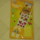 FUN BRAND NEW CHILDRENS CRAFT KIT SUNFLOWERS & LADYBUG STICKERS PICTURE DESIGNER