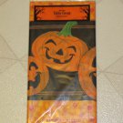 "BRAND NEW COLORFUL & FUN HALLOWEEN JACK-O-LANTERN 54"" X 84"" PLASTIC TABLECLOTH"