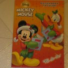BRAND NEW DISNEY MICKEY MOUSE FA-LA-LA CHRISTMAS THEMED COLORING ACTIVITY BOOK