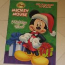 BRAND NEW DISNEY MICKEY MOUSE HOLIDAY TREAT CHRISTMAS COLORING ACTIVITY BOOK