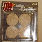"NEW SHEPHERD BRAND HEAVY DUTY 8 SELF-ADHESIVE 1-1/2"" DIAMETER FELT GARDS #9953"
