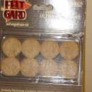 "NEW SHEPHERD BRAND HEAVY DUTY 16 SELF-ADHESIVE 1"" DIAMETER FELT GARDS #9953"