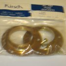 "BRAND NEW IN PACKAGE KIRSCH NO. 785 METAL POLE SOCKETS for 1-3/8"" TUBING"