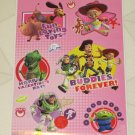BRAND NEW  VALENTINES DAY  DISNEY TOY STORY WOODY & BUZZ  STATIC WINDOW CLINGS