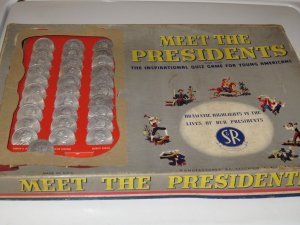 MEET THE PRESIDENTS THE INSPIRATIONAL QUIZ GAME FOR YOUNG AMERICANS