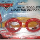 BRAND NEW PAIR DISNEY PIXAR CARS RED & YELLOW SWIMMING SWIM GOGGLES