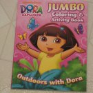 BRAND NEW Outdoors With Dora The Explorer Coloring & Activity Book