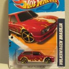 RAND NEW in Package Hot Wheels Heat Fleet '12 Flame Deco Volkswagen Brasilia