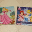 BRAND NEW Two Disney Princess Childrens Books Animal Friends & Palace Invitation